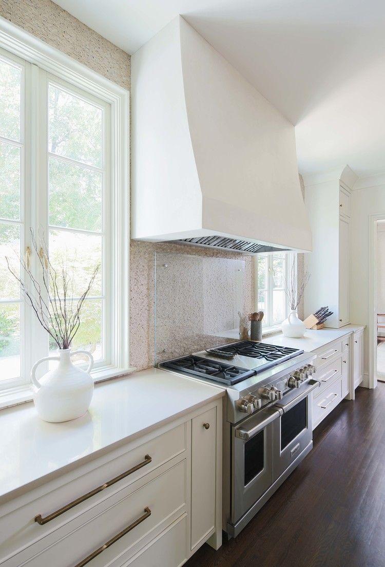 White Kitchen Vent Hood