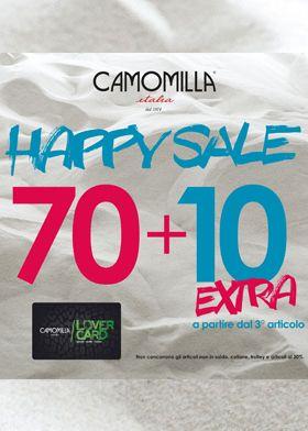 -70+10% extra di sconti da Camomilla Italia.