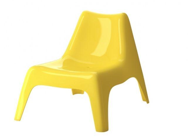 Chaise jardin jaune ikea ps | Déco terrasse | Pinterest | Chaise ...