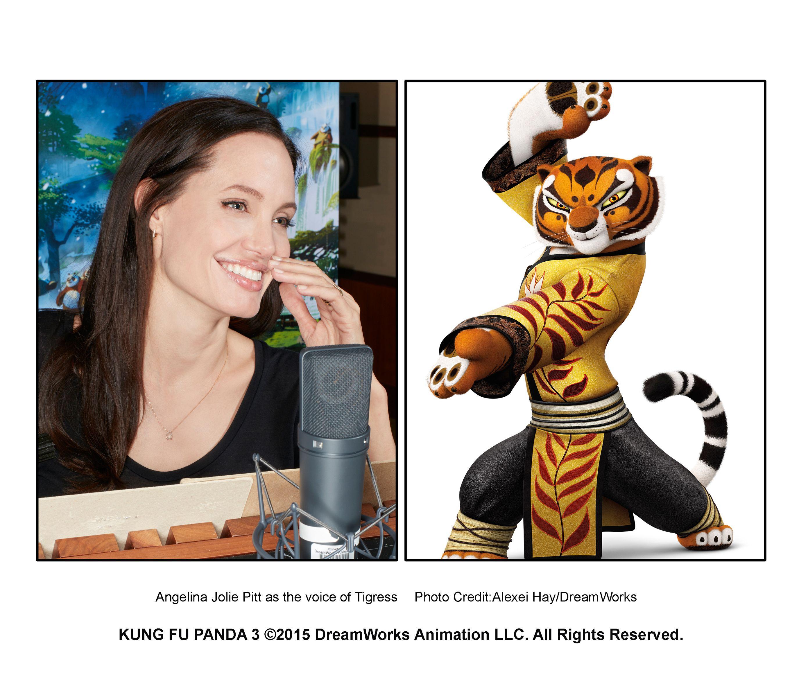 Kung Fu Panda 3 Promo Still 2015 Angelina Jolie As The Voice Of