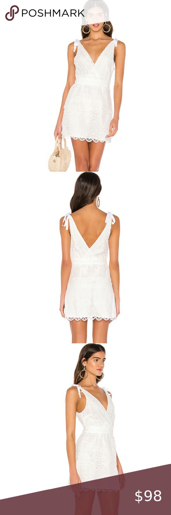 Majorelle Juliette White Lace Tie Straps Dress M Revolve Majorelle Juliette Tie Straps Medium White Lace Dress Nwt Lace White Dress Tie Strap Dress Strap Dress [ 1740 x 580 Pixel ]