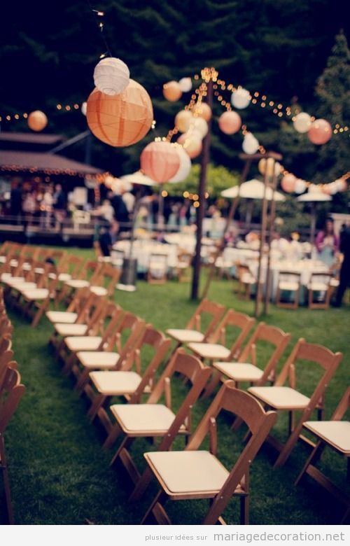 Idées déco mariage jardin | Wedding | Pinterest | Wedding and Weddings