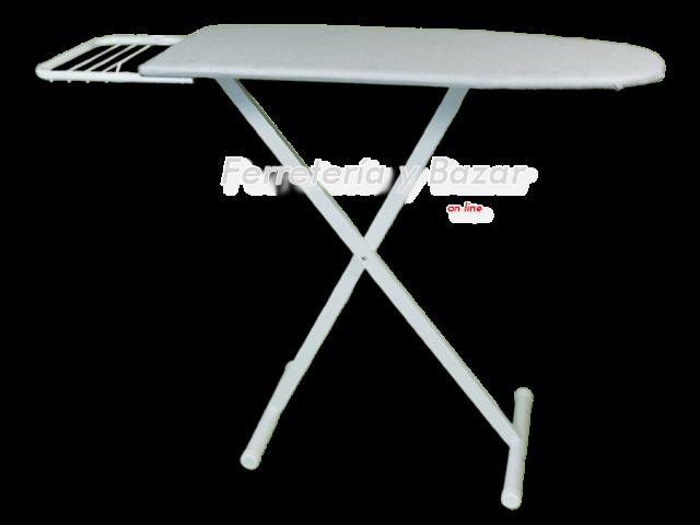tabla de planchar plegable tela metalizada