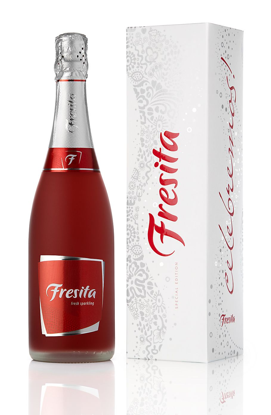 Fresita Bottle Label Design Wine Label Design Wine Packaging