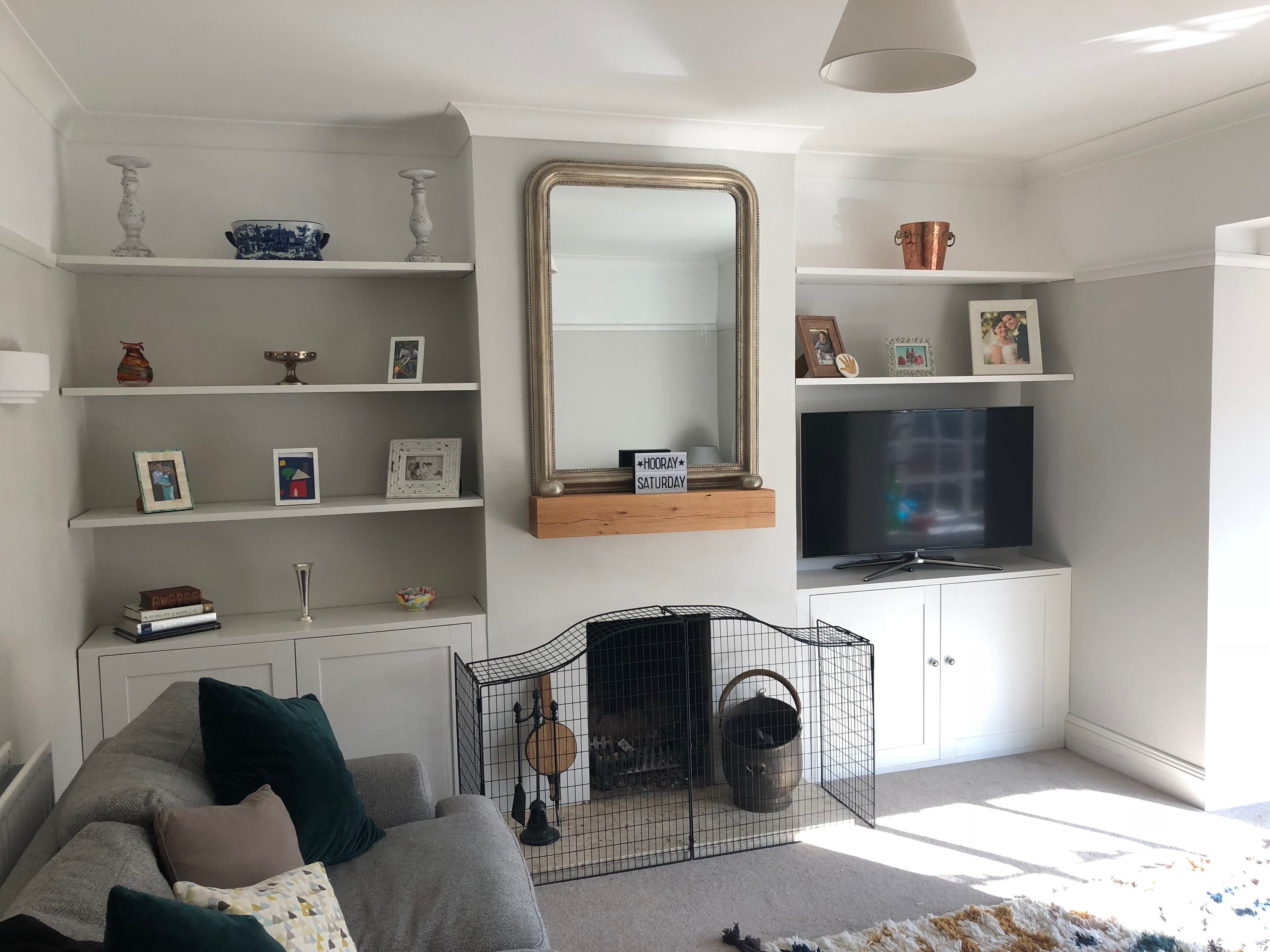 ikea hack knoxhult kitchen wall unit turned built in on wall hacks id=15446