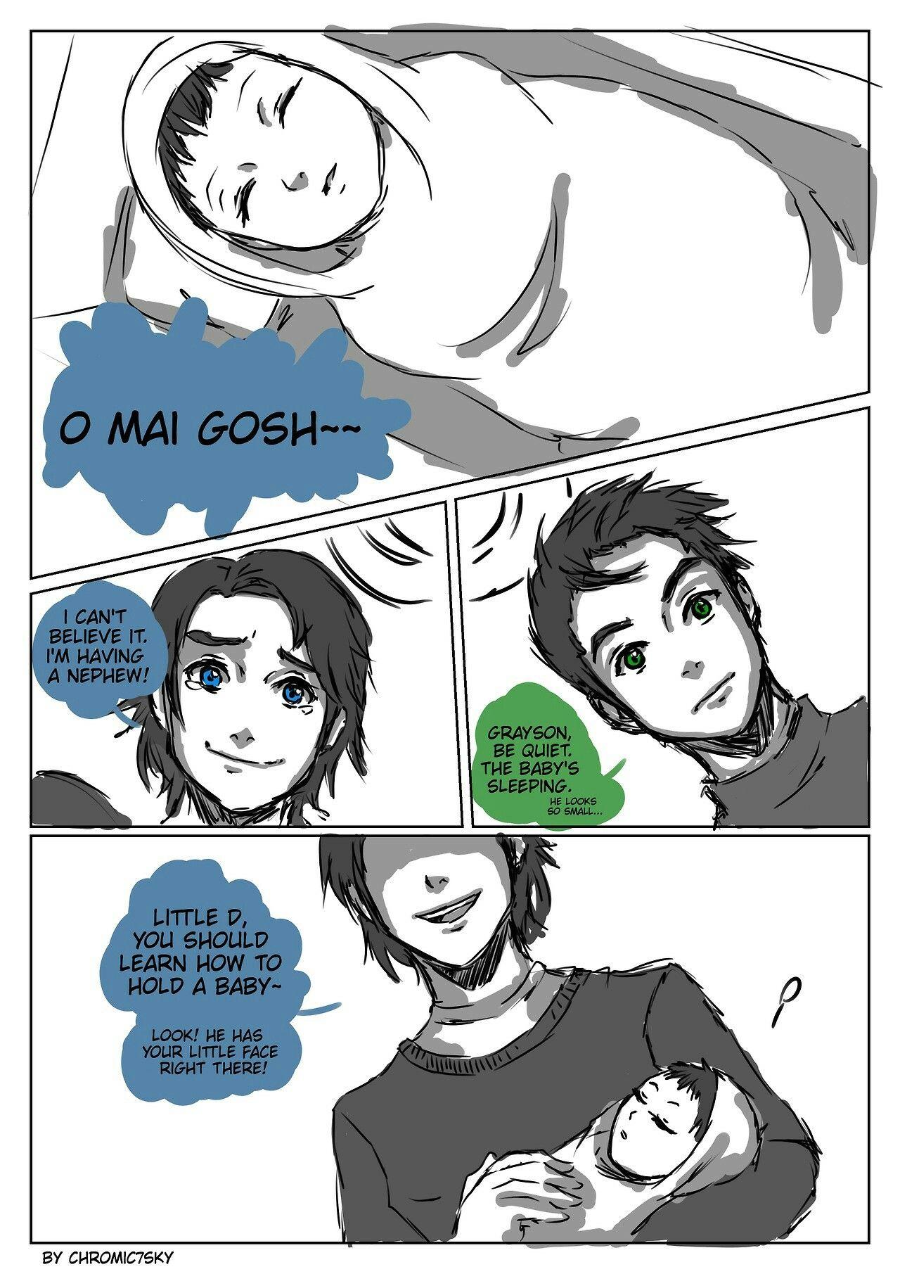 Teen Titans By Kaycee Arnold