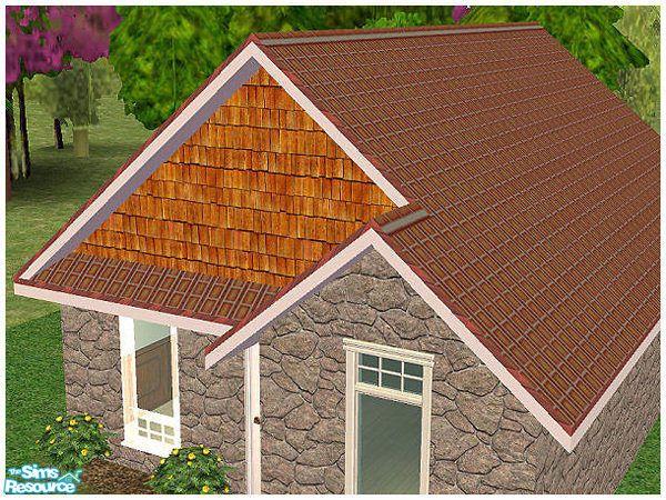 Best Hatshepsut S Crimson Roof Tile With White Trim White 400 x 300