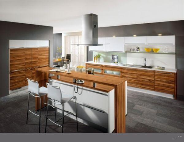 Kitchen Zebrano ideas for modern home   cocinas   Muebles de ...