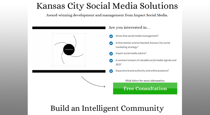 Kansas City Social Media Management Solutions By Impact Social