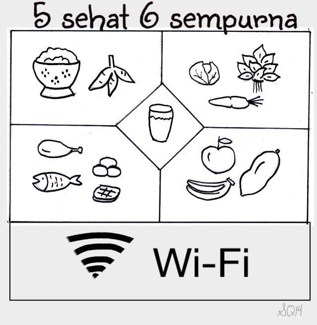 Hahahahaha True 4 Sehat 5 Sempurna Udah Kuno Sekarang 5 Sehat 6 Sempurna Cards Humor Playing Cards