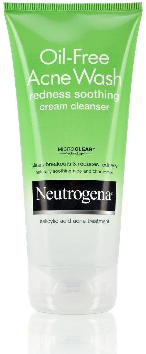 Neut Of Acne Crm Clnser Size 6z Neutrogena Oil Free Acne Wash