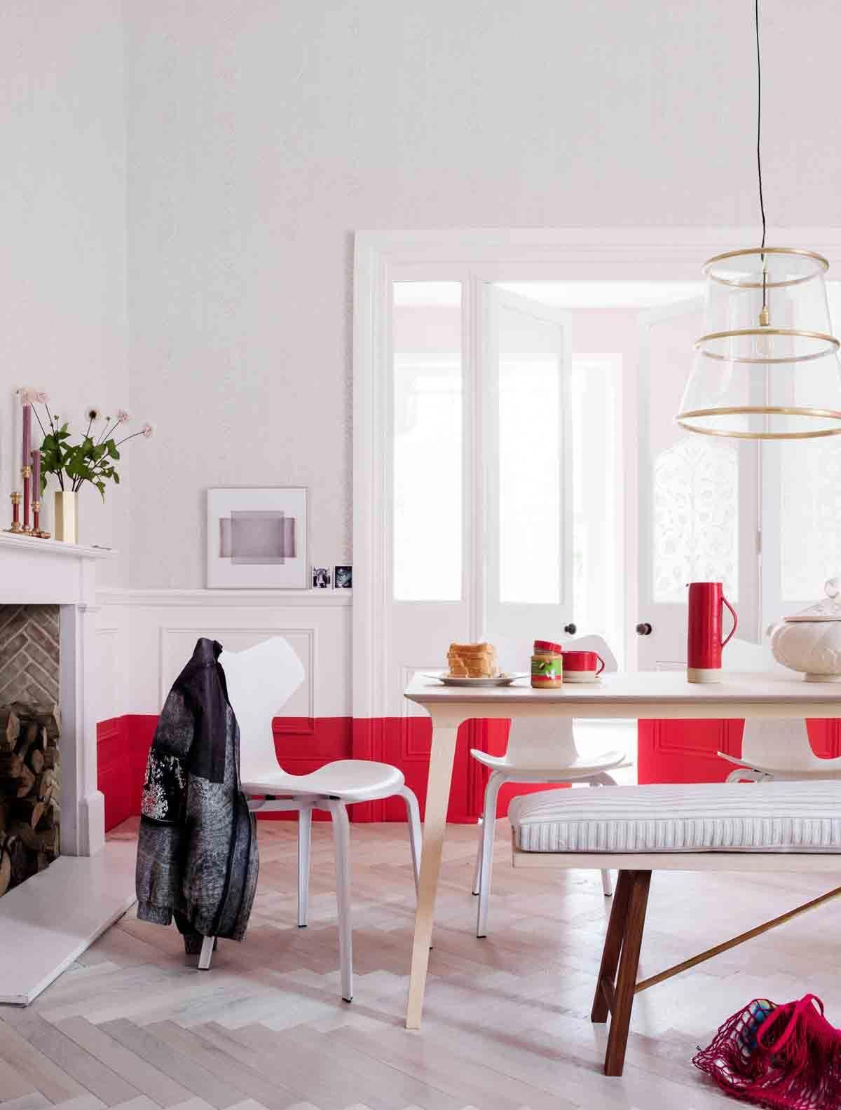 Interior design trend decorating with red interiorxc also rh pinterest