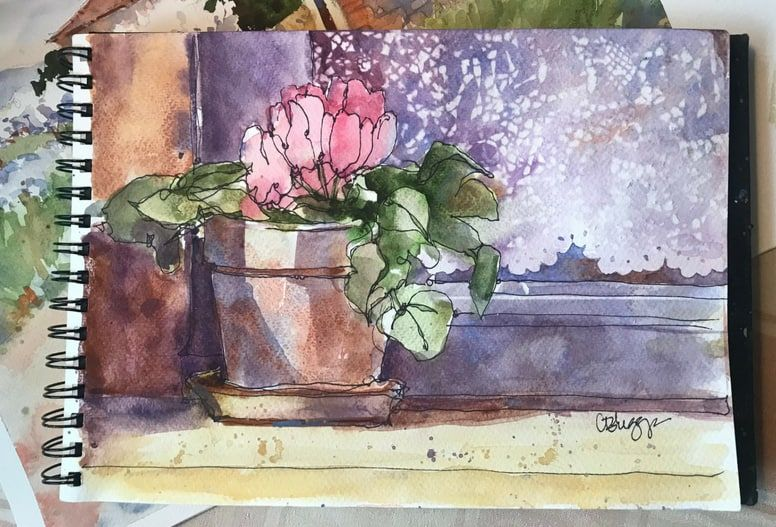 The Joyful Brush Monthly Online Painting Lessons With Nancy