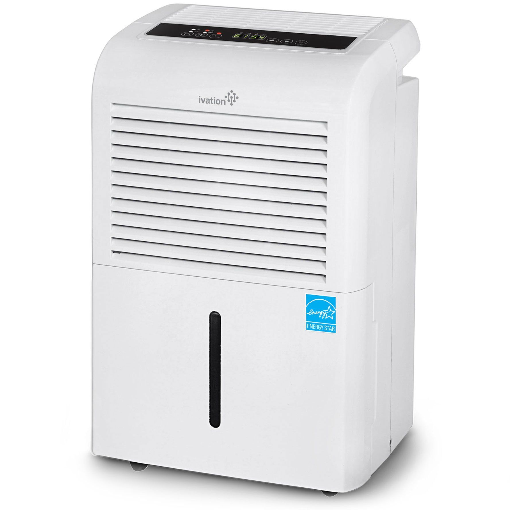 Ivation 70 Pint Energy Star Dehumidifier LargeCapacity For