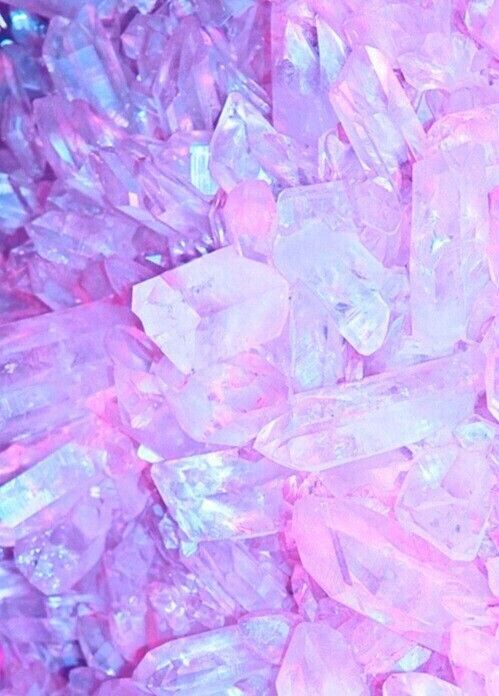 What Crystal Color Are You Vibrating  is part of Pink aesthetic - What magical color are you reflecting and shining in this world