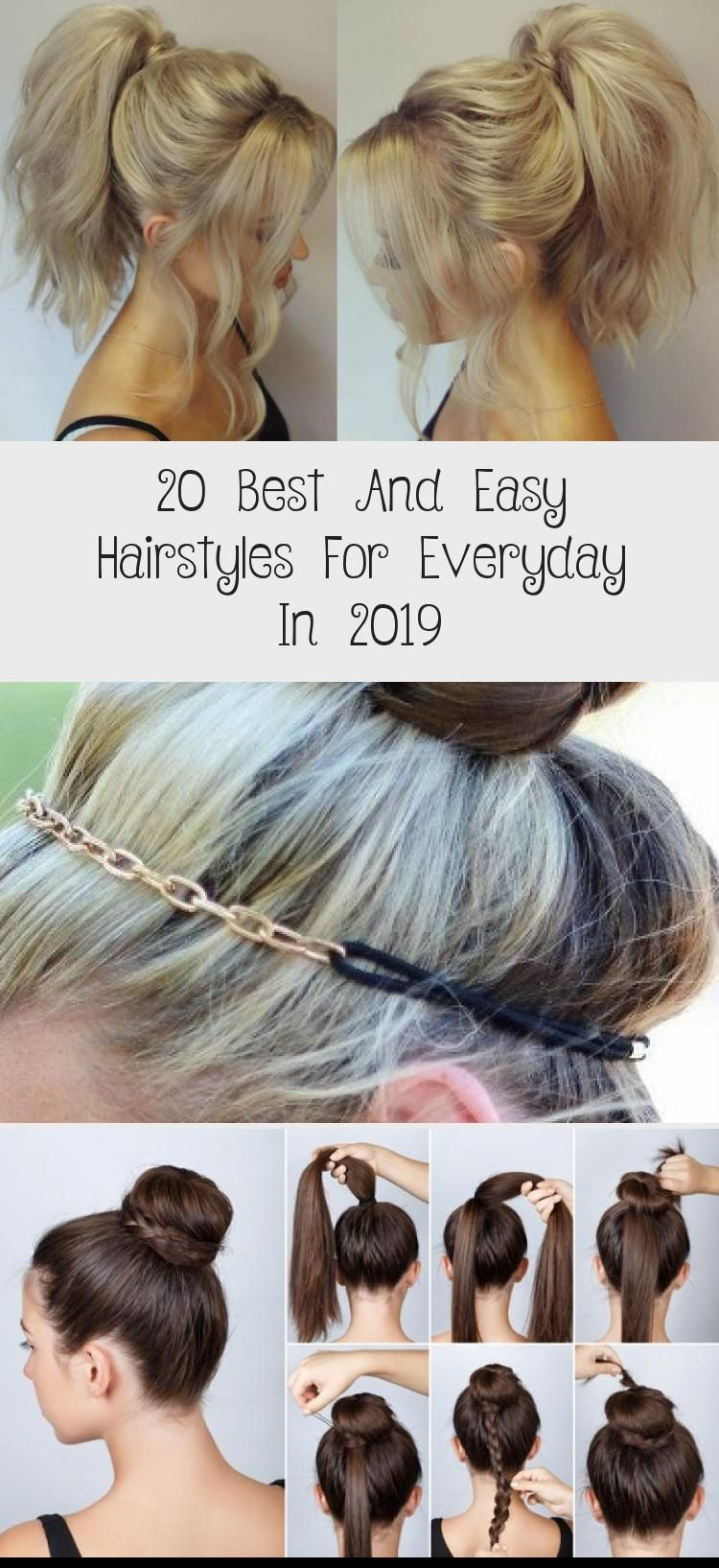 Top 17 Casual Hairstyles For Everyday Everydayhairstylesdiy Everydayhairstylesforwork Everydayhairstyle In 2020 Hair Styles Easy Everyday Hairstyles Easy Hairstyles