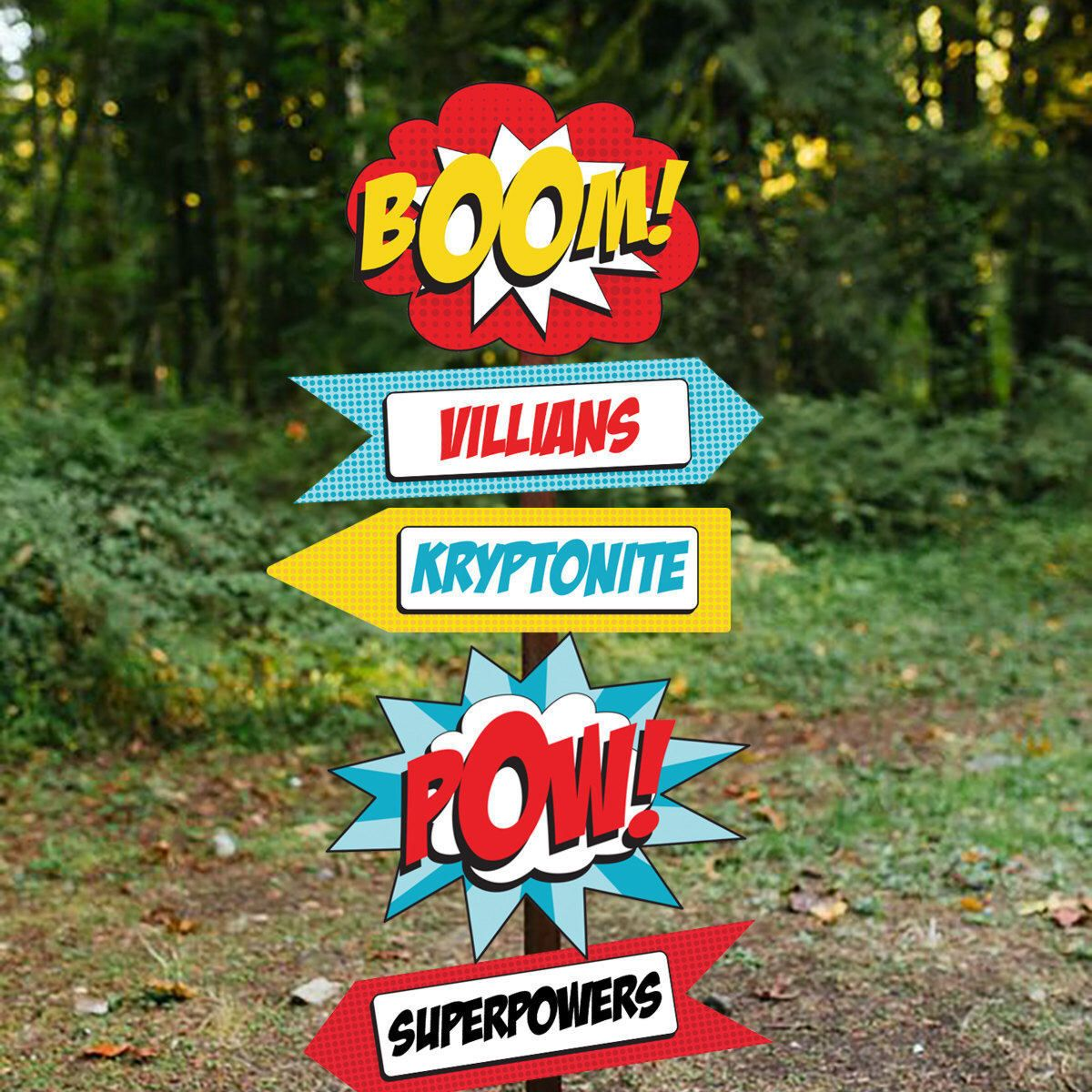 Superhero Party Welcome Sign Superhero Party Printable Sign Superhero Signs Instant Download And Edit File At Home With Adobe Reader Superhero Party Decorations Superhero Signs Superhero Party