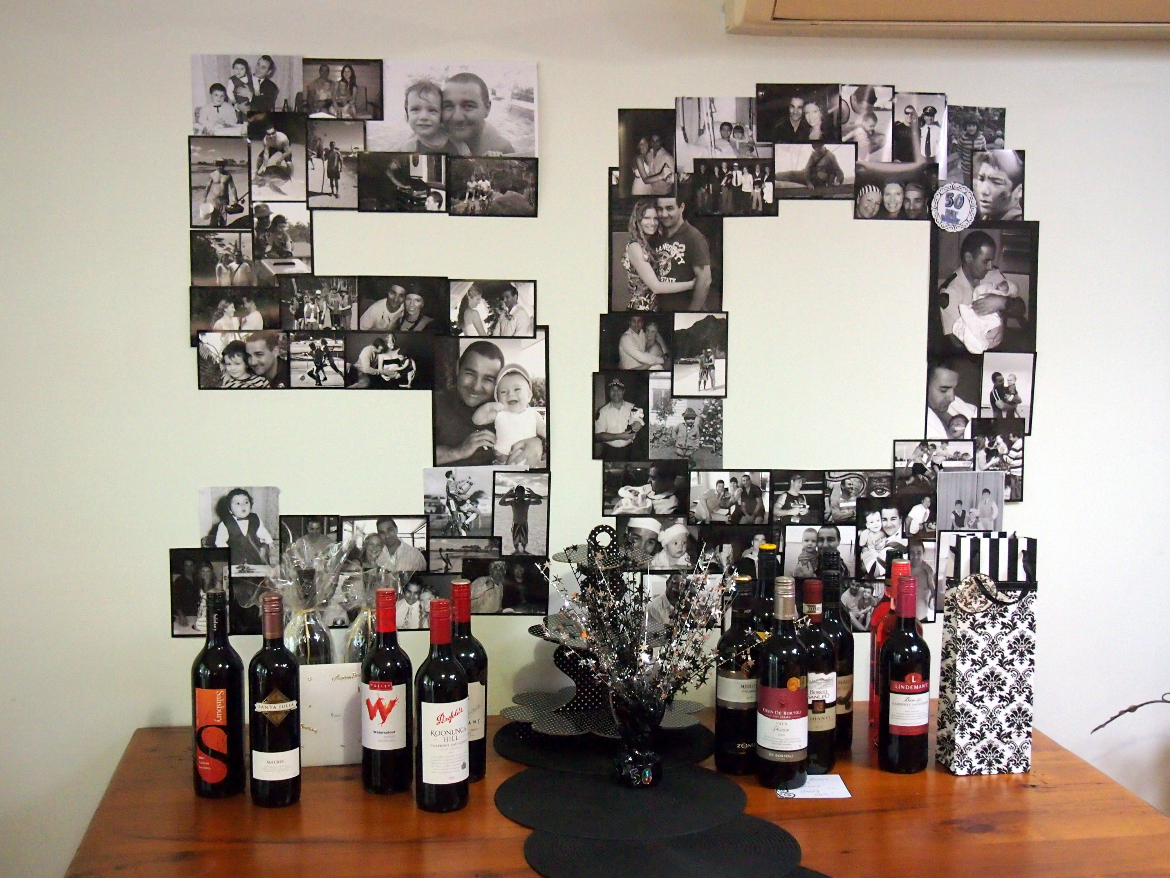 This Is A Photo From My Husband S 50th Using Ideas Pinterest Note