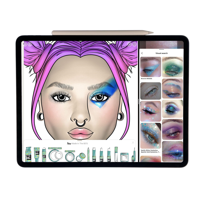 Pin on PrêtàMakeup App (iPad Pro + Apple Pencil)