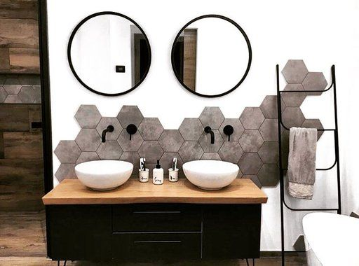 20++ Echelle noire salle de bain ideas
