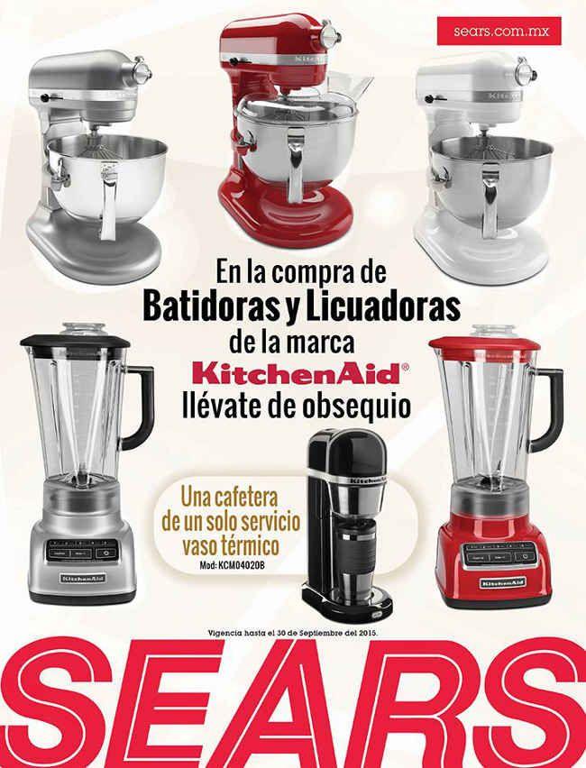 Sears Regalos Gratis Comprando Batidoras Y Licuadoras Kitchen Aid