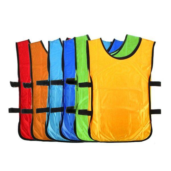 9574927b8 Petos Deportivos x6 Peto Entrenamiento Fútbol Practicas Varios Colores