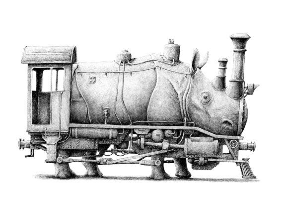 Rhino/locomotive