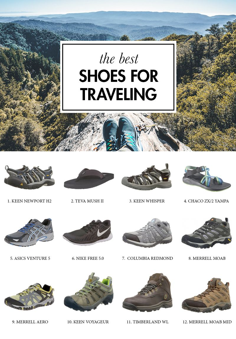 13 Best Travel Shoes for Men and Women   Reise packen