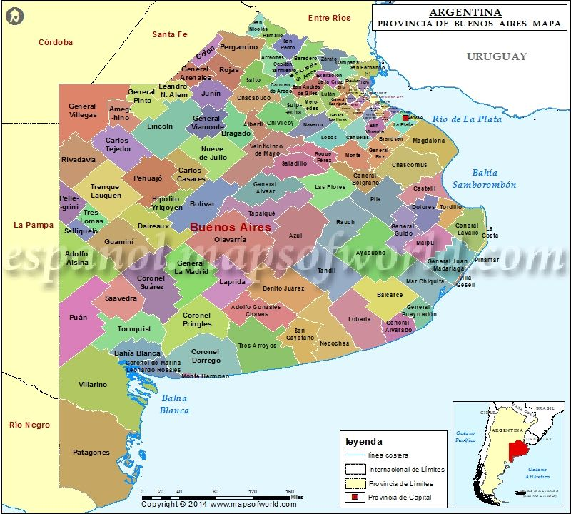 Mapa De La Provincia De Buenos Aires Provincia De Buenos Aires Argentina Buenos Aires Argentina Mapa De Argentina