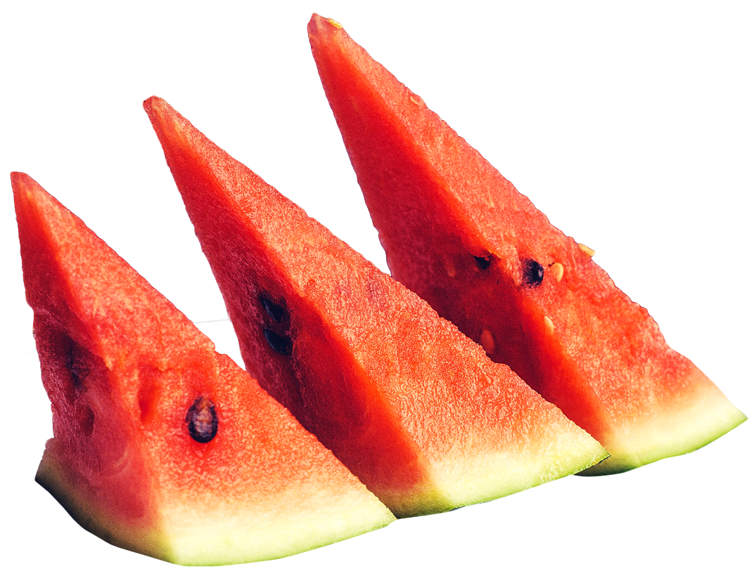 Sliced Ripe Watermelon Png Image Watermelon Sliced Summer Fruit