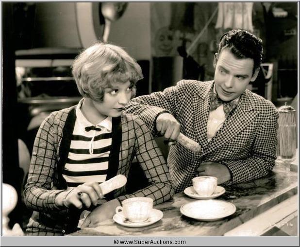 "Alice White & Arthur Lake in ""Harold Teen"" (1928). Fun movie, saw it at the Portage a few years ago."