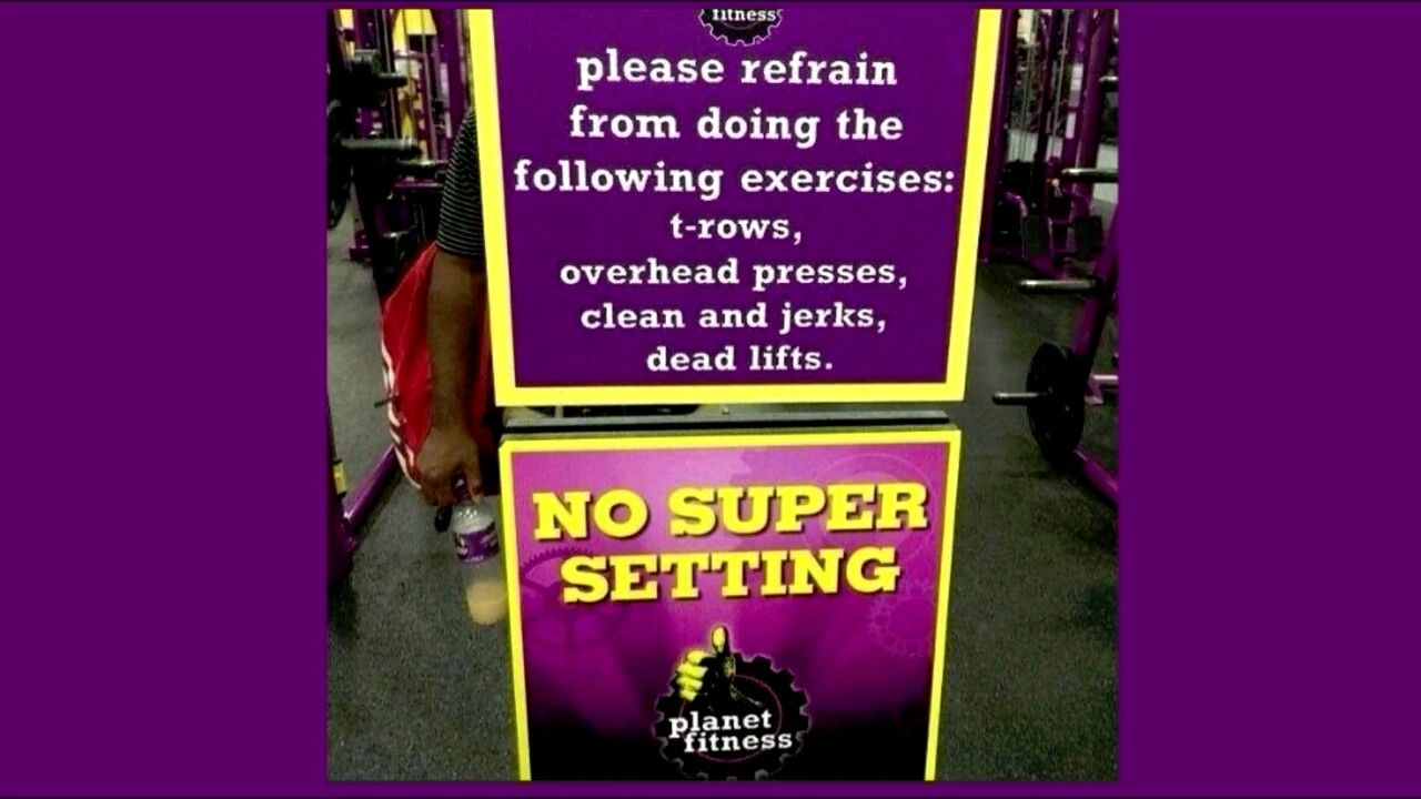 How do they call themselves fitness funny gym