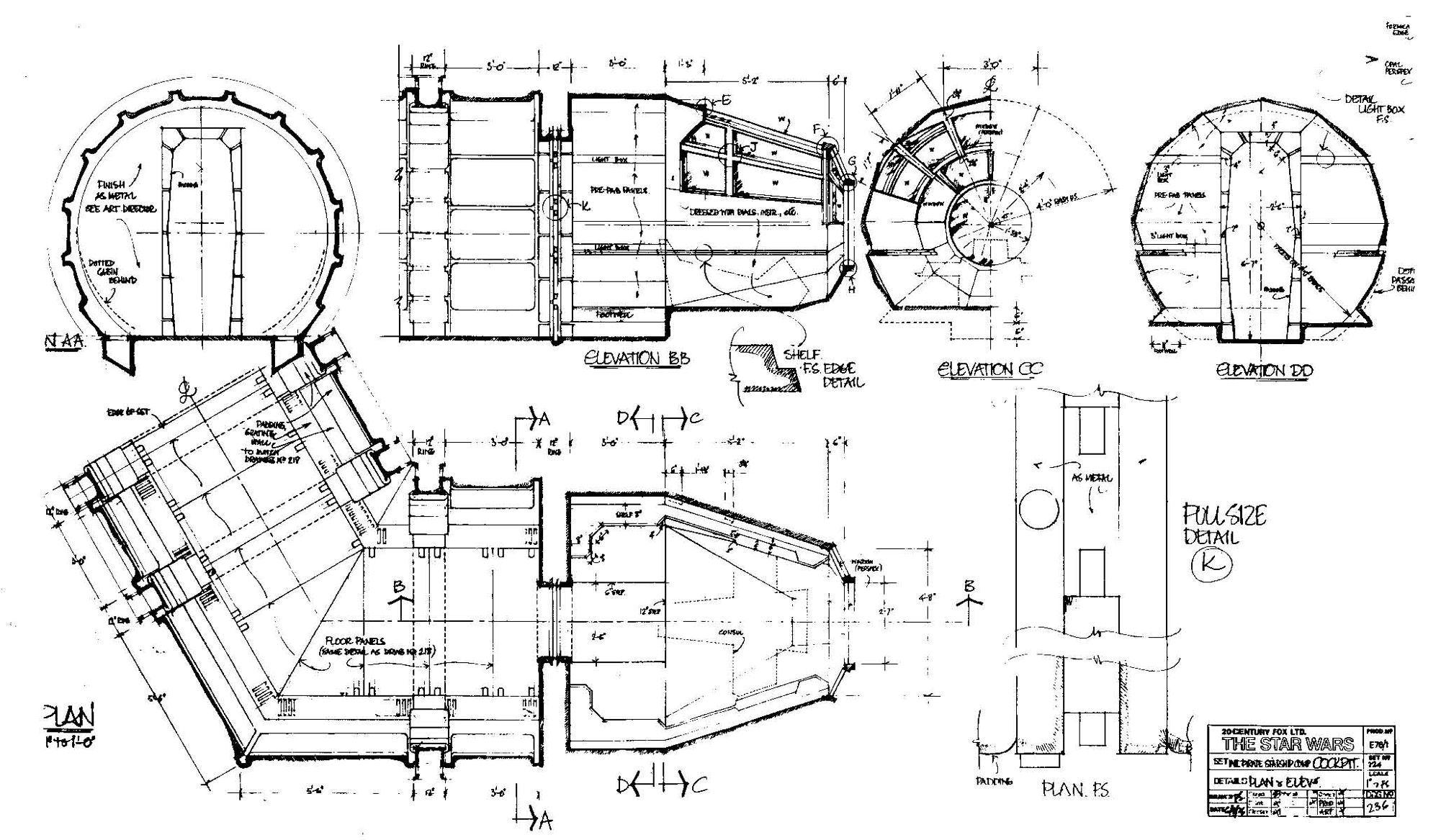 Millennium Falcon Cockpit Plans Chris