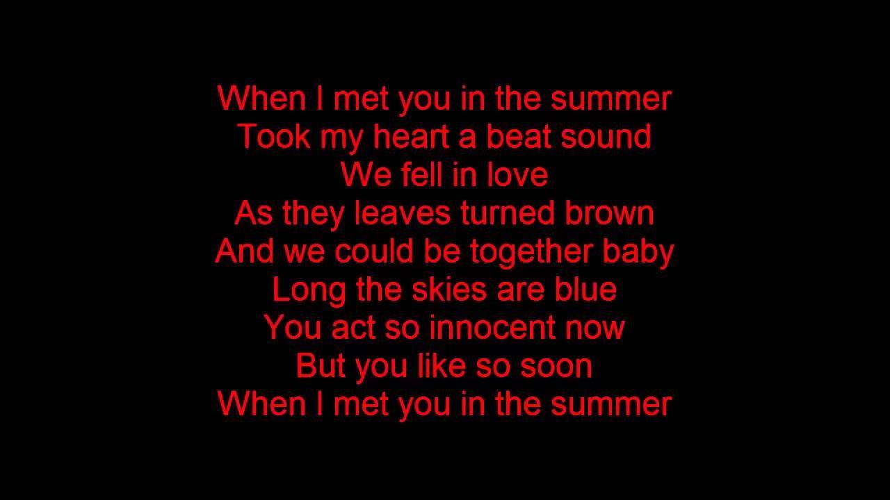 summer calvin harris lyrics - Google Search   Calvin ...