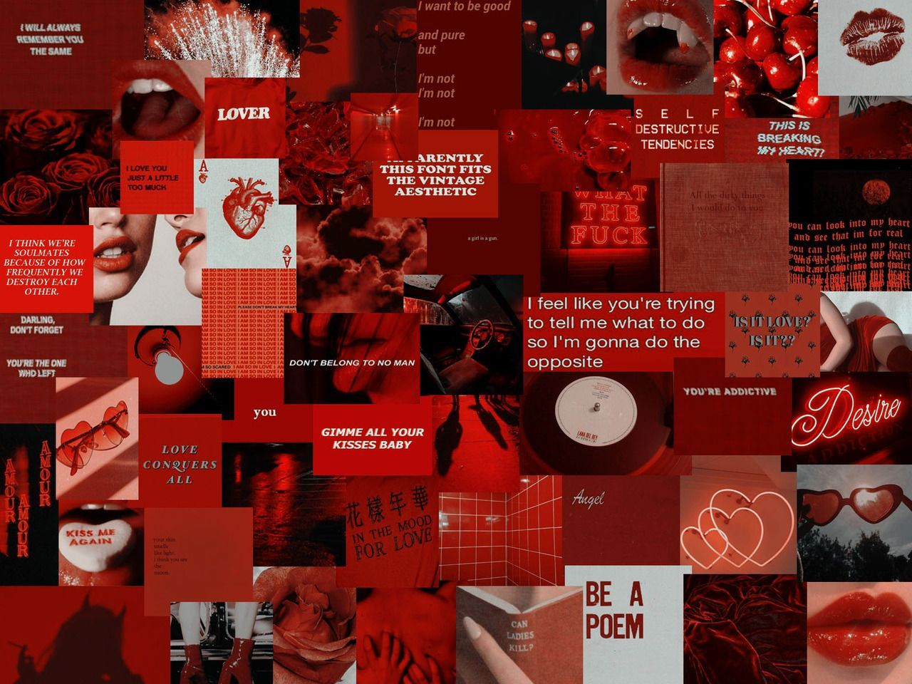 Red Aesthetic Wallpapers Top Free Red Aesthetic Backgrounds