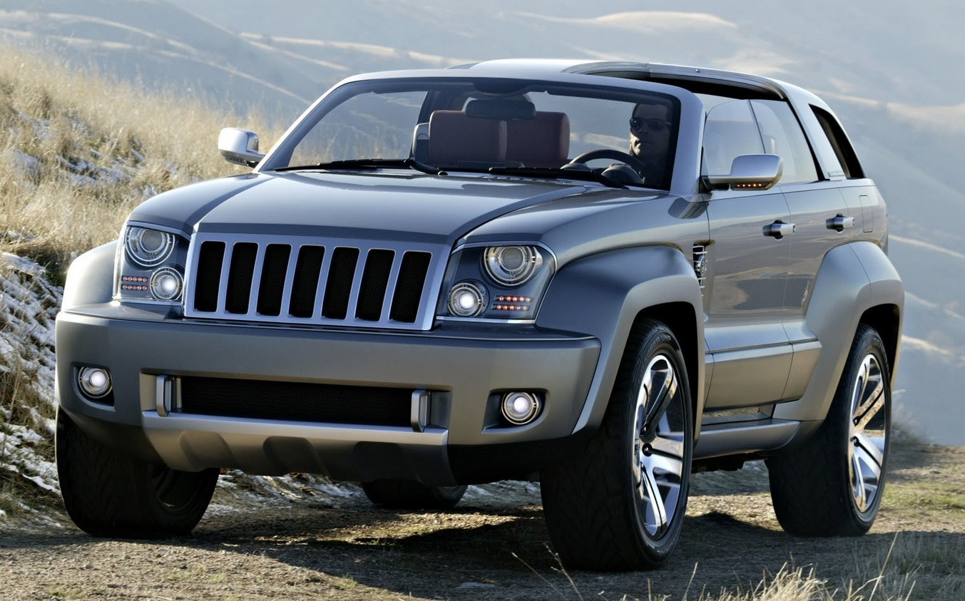 Jeep Trailhawk Concept Jipler