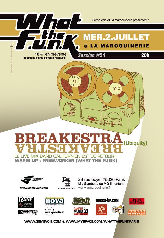 wtf#54 : Breakestra - 02/07/2008  (by Dré)