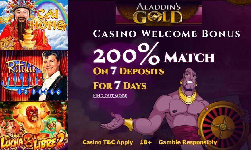 Aladdins Gold Free Chips 2021
