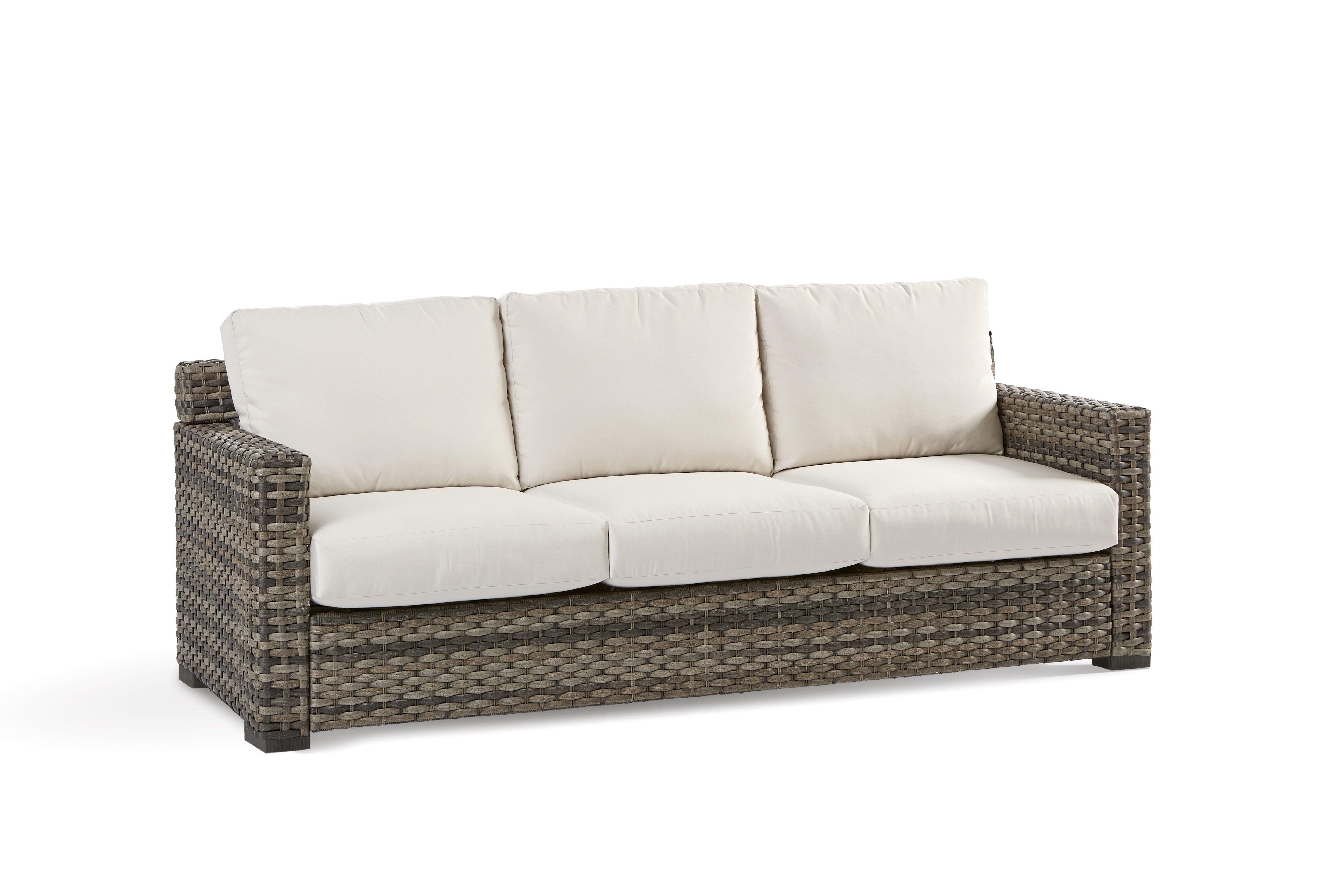 Jakarta Patio Sofa With Sunbrella Cushion Sofa Pictures Outdoor