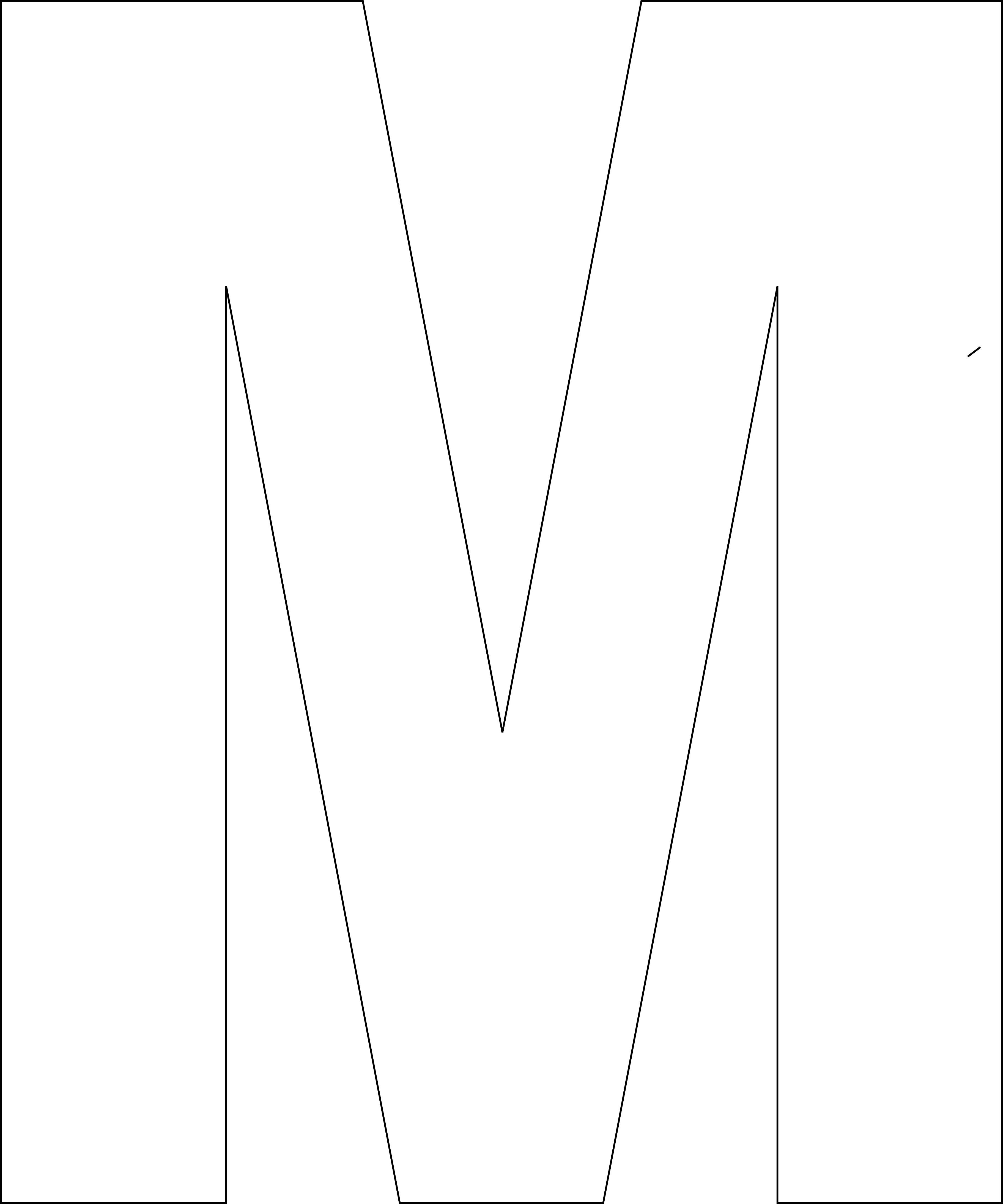 Alphabet Letters Templates Printable Free