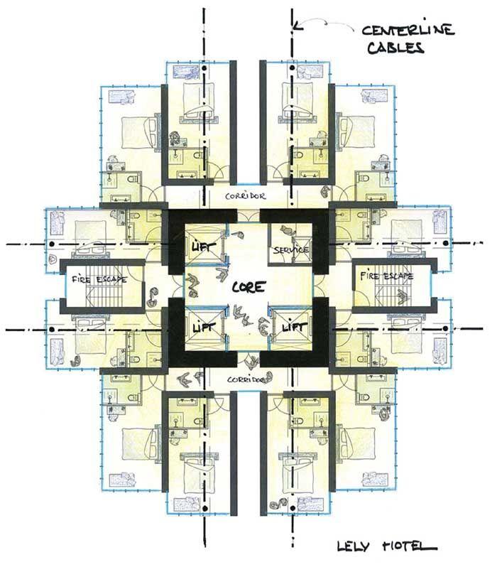 Lely Hotel Allardarchitecture220508 2 Jpg 700 798 Pixels Hotel Floor Plan Hotel Floor Architectural Floor Plans