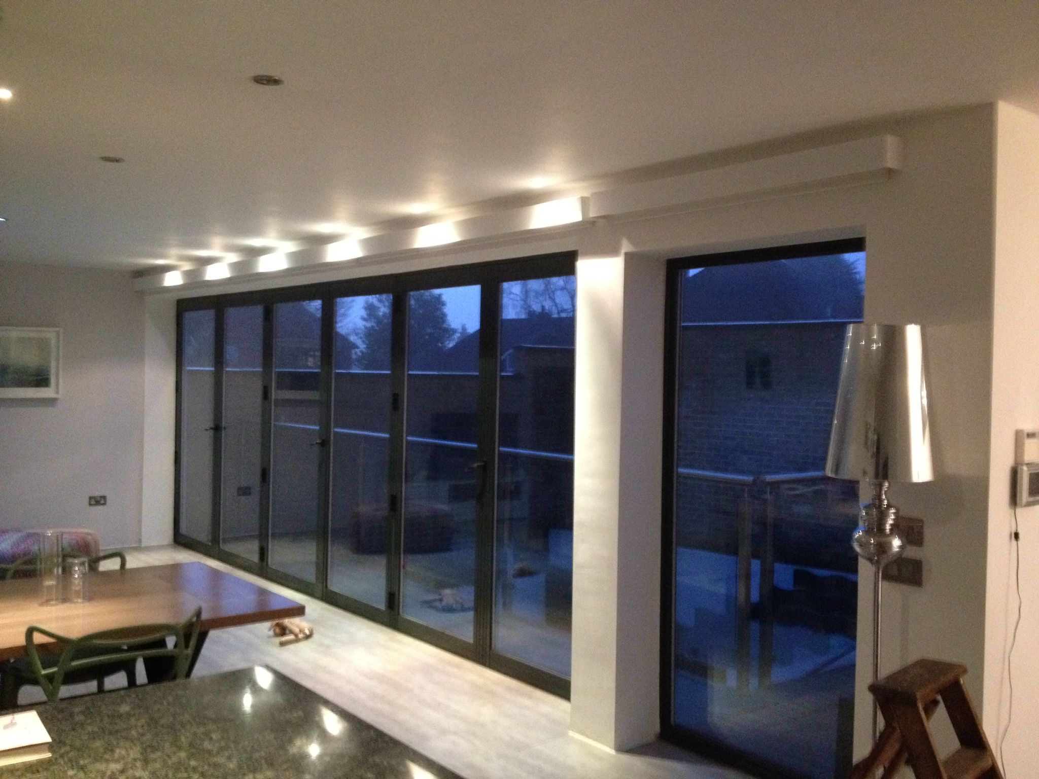 Battery operated electric blinds curtains pinterest - Electric window shutters interior ...