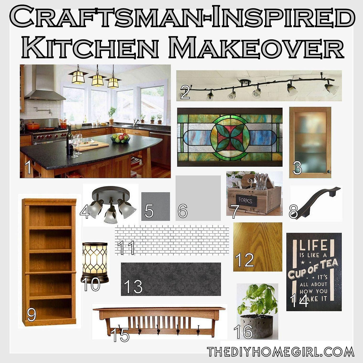 From Country to Craftsman: Planning a Kitchen Makeover ...