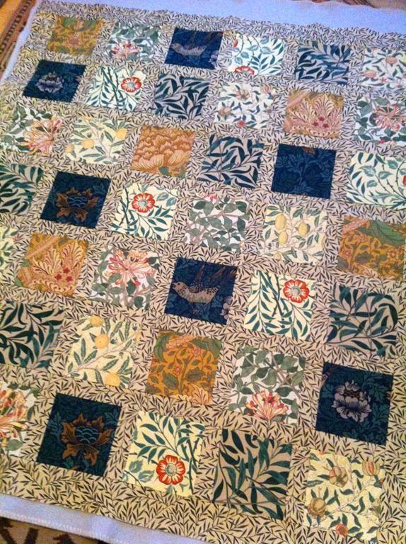 William Morris Quilt Minniemoll Knits And Crafts William Morris ... : william morris quilt patterns - Adamdwight.com