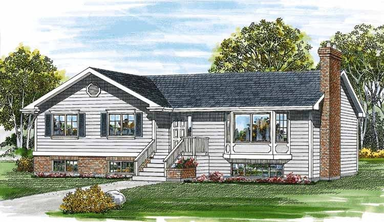 Eplans Cottage House Plan - Great for a Starter, or Empty Nesters - 1352 Square Feet and 3 Bedrooms from Eplans - House Plan Code HWEPL06158