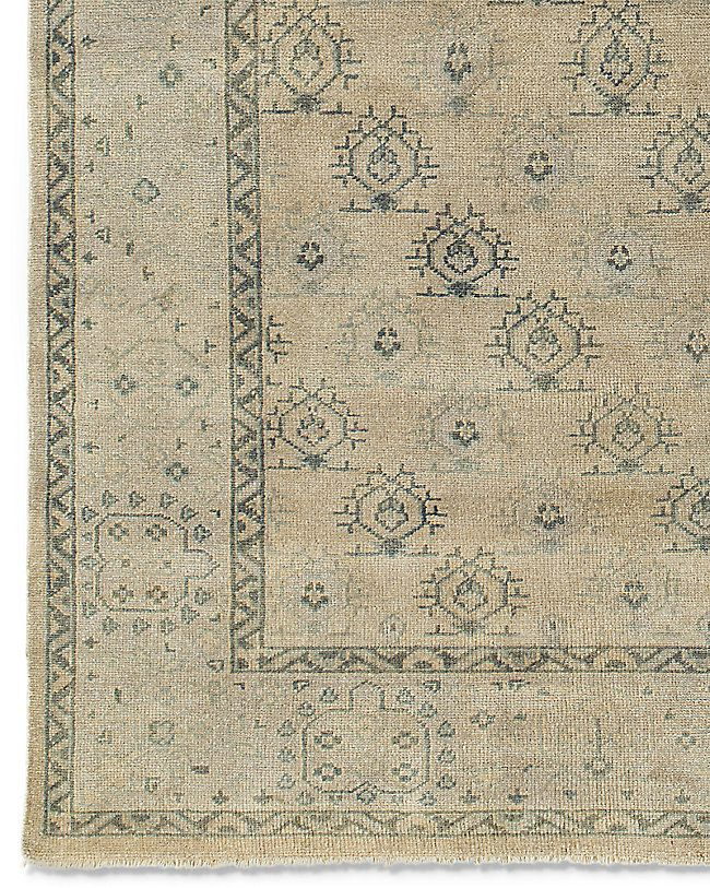 Yata Rug Linen Another Oushak From Restoration Hardware Rugs