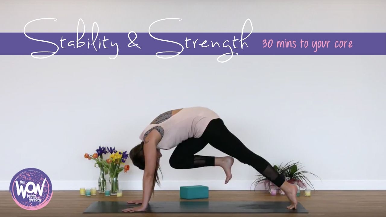 Week 2 30 Mins To Your Core A 30 Minute Instructional Yoga