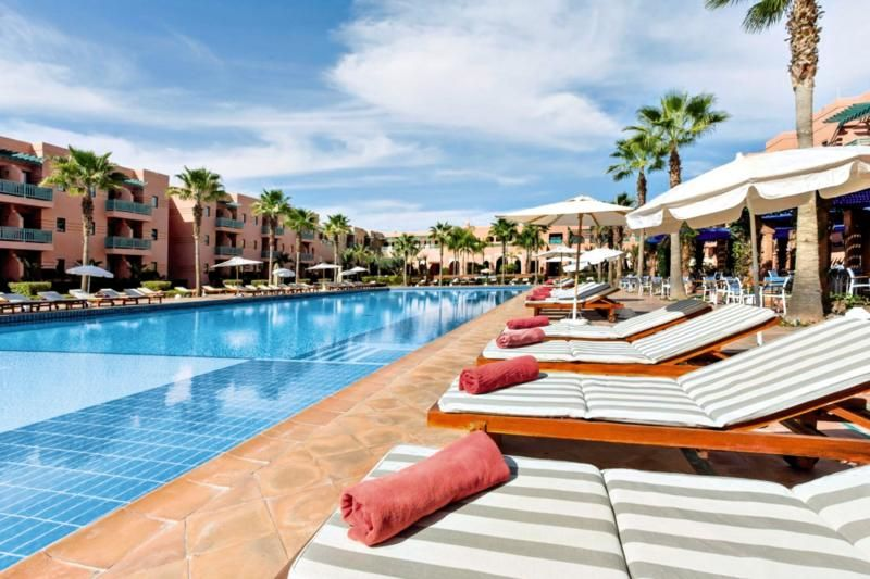 Les Jardins De L Agdal Riu Tikida Beach Marokko Marrakesch