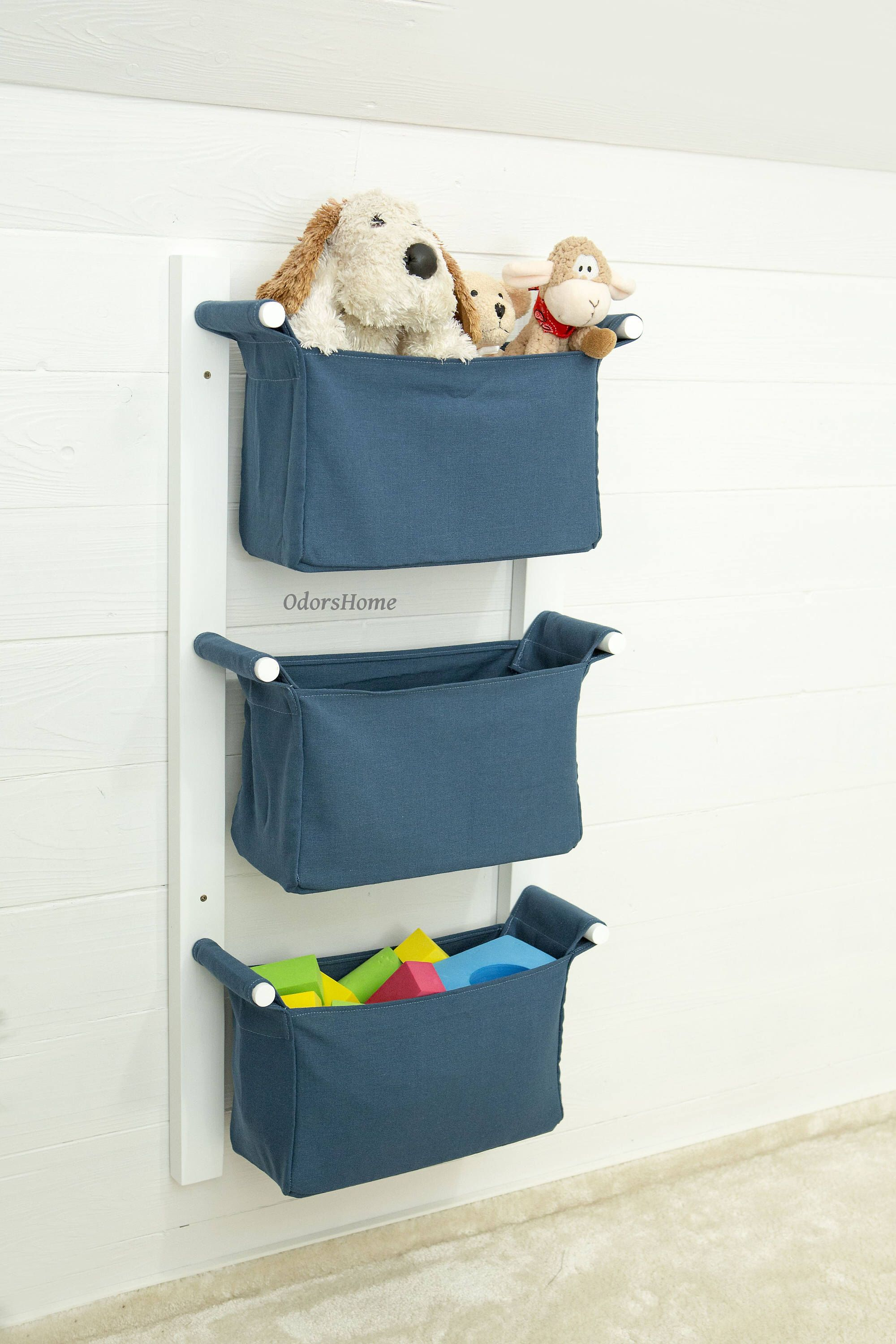 Hiccapop Nursery Organizer And Baby Diaper Caddy | Hanging Diaper Regarding Diaper  Caddy For Changing Table
