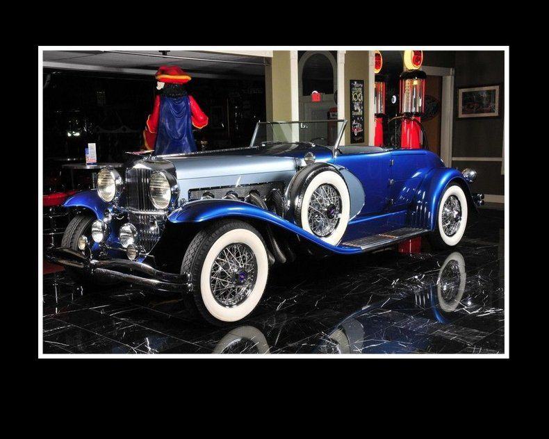1988 Duesenberg Ii Murphy Body Roadster For Sale Allcollectorcars Com In 2020 Roadsters Cool Old Cars Classic Cars